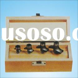 4pcs Engraved Router Bit Set For wood(Rounding Over Bit)