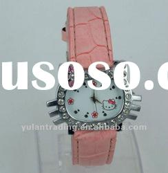 Cartoon Hello Kitty Wrist Watch nlt-014