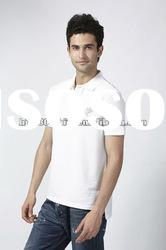 Custom Private Label 100% Organic Cotton Polo Men's T-Shirts
