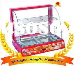 Display warming showcase(Stainless steel&CE/ISO9001/Manufaturer)