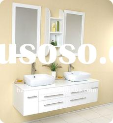 Double sinks Solid wood bathroom furniture