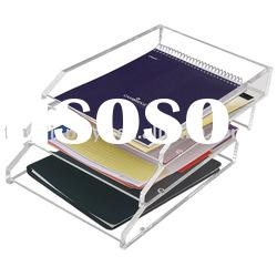 Elegant Clear Acrylic Desk Accessories (OS-C-28)