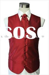 Fashion Silk Men's Wedding Vest & Waistcoat