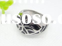Fashion Stainless Steel Epoxy casting Rings