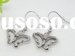 Fashion Stainless steel butterfly Earring