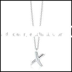Fashion silver plated Pendant Necklace