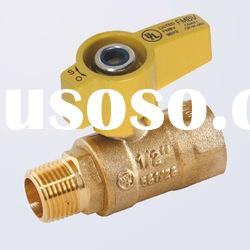Gas Brass Ball Valve (Female Thread * Male Thread)