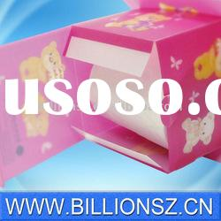 Good quality customize offset printing car tissue boxes