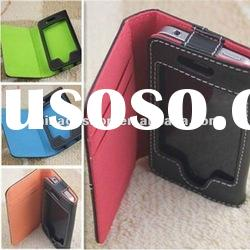 Hot Selling Wallet Flip Leather Case For Iphone 3G 3GS 4G/4S