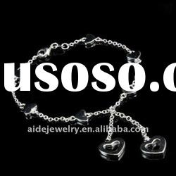 Hot sales Fashion Silver Bracele, Heart-shaped Bracelet