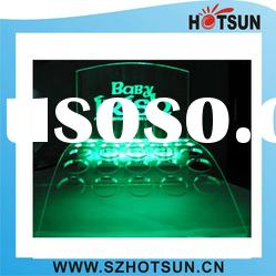 LED acrylic cosmetic display stand