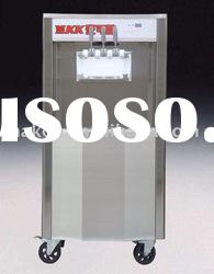 LOW TEMP TYPE Soft Serve Ice Cream Machine/2+1 twinst (TK938)