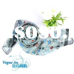 Latest Fashion top design Excellent quality long arabic scarf for lady