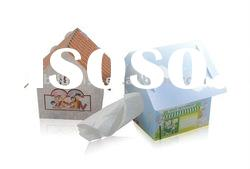 Manufacture best quality offset printing plastic Tissue Box