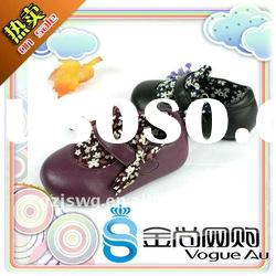 Most beautiful and modern butterfly baby leather shoes 2011/kid shoes are new arrival