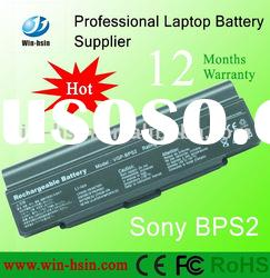 New 6600mAh Rechargeable Li-ion Replacement Laptop Battery For Sony VGP-BPS2