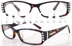 New Style Acetate Reading Glasses with Diamond(RA511029)