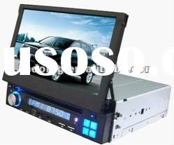Slot-in single din Car stereo dvd player with 7inch screen