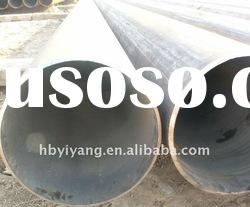 Straight seam welded carbon steel pipe