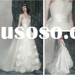 WD5593 A-line Court Train Tulle Royal Wedding Dress