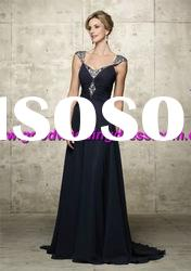 Wholesale - Hot Sale Off-the-shoulder Floor length Mother Of The Bride Dresses