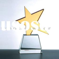 crystal star awards for sports gifts