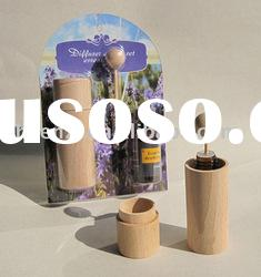 essential oil diffuser set, aroma oil diffuser with Beech Barrel for home and car