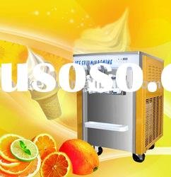 excellent freezing capacity soft ice cream machine which can make ice cream low to -7C