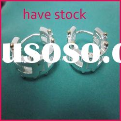 fashion silver earring, gold jewelry