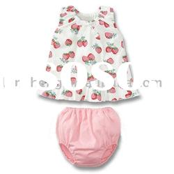fashion styles cotton baby clothing sets,baby wear