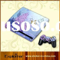 games skin sticker for sony ps3 slim cover