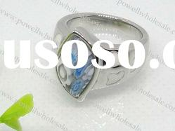 new fashion stainless steel murano rings