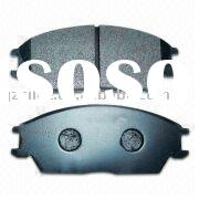 non asbestos semi metal high quality brake pad