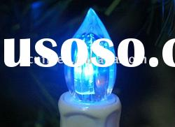 remote control color changing led taper candle