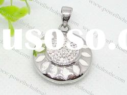 round shape Stainless Steel jewerly
