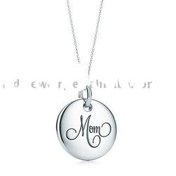 silver charm necklace imitation jewelry new designs silver jewelry in 2011