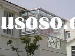 tempered glass for balcony and sunshine room