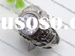 wholesale high quality Ring, Of stainless steel and Rhinestone