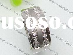 wholesale stylish stainless steel rings