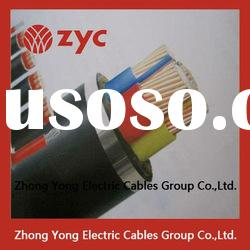 xlpe insulation pvc sheath steel tape armoured copper cable price