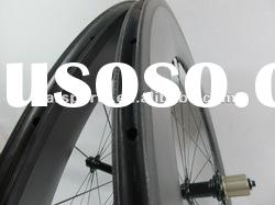 100% hand built! 88mm clincher carbon fiber wheels