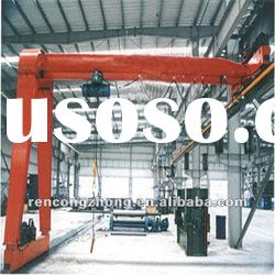 10t MHb Model general purpose Semi-gantry crane with electric hoist