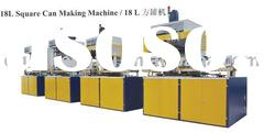 15-20L Full Automatic Square Tin Can Making Machine