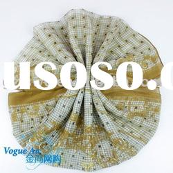2011 New Arrival Brand Designer Spinning Silk Scarf with character Shawl Pashmina