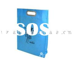 2011 style die cut non woven packaging bag