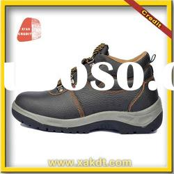 2012Hot sale leather safety shoes with CE, slip resistant