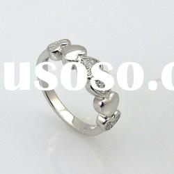 2012 hot sale heart diamond rings