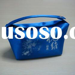 2012 latest designer blue bling cosmetic bag
