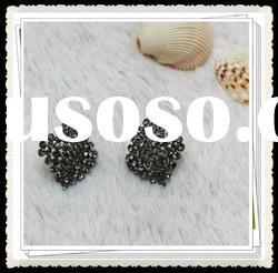 2012 popular fashion diamond jewelry earring