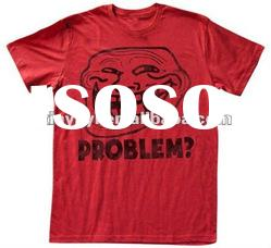 2012 wholesale high quality t shirt newest red american apparel tshirts